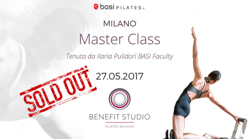 Master Class BASI Pilates Benefit Studio Milano
