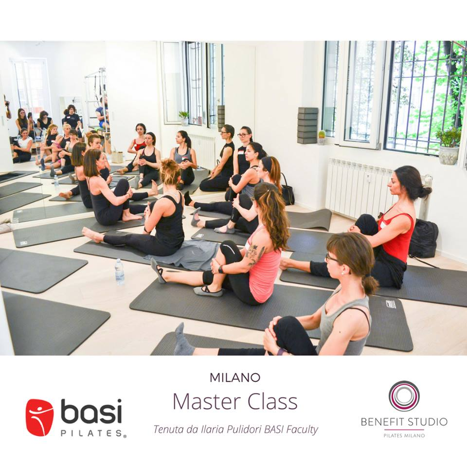 BASI Pilates - Masterclass at Benefit Studio Milano