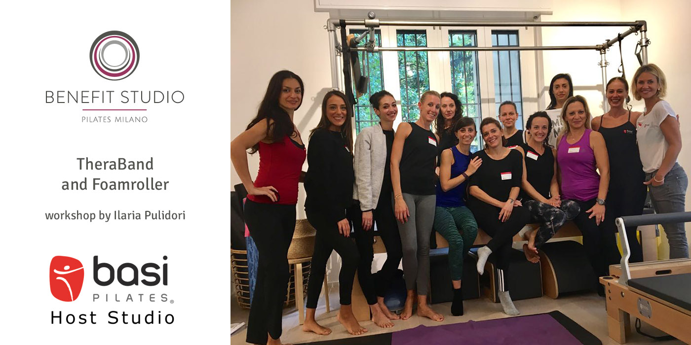 Benefit Studio Pilates Milano - BASI Host event with Ilaria Pulidori