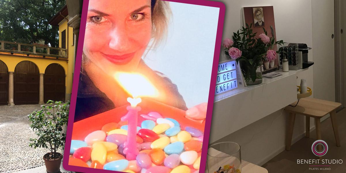Happy Birthday Benefit Studio Pilates Milano