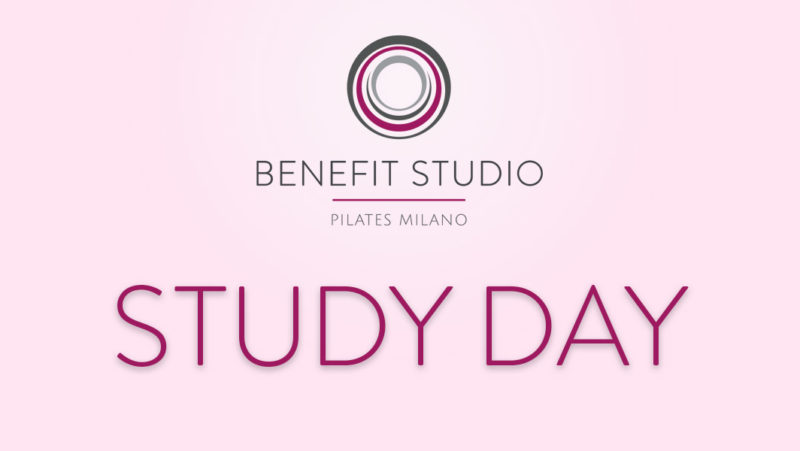 Study Day - Benefit Studio Pilates Milano